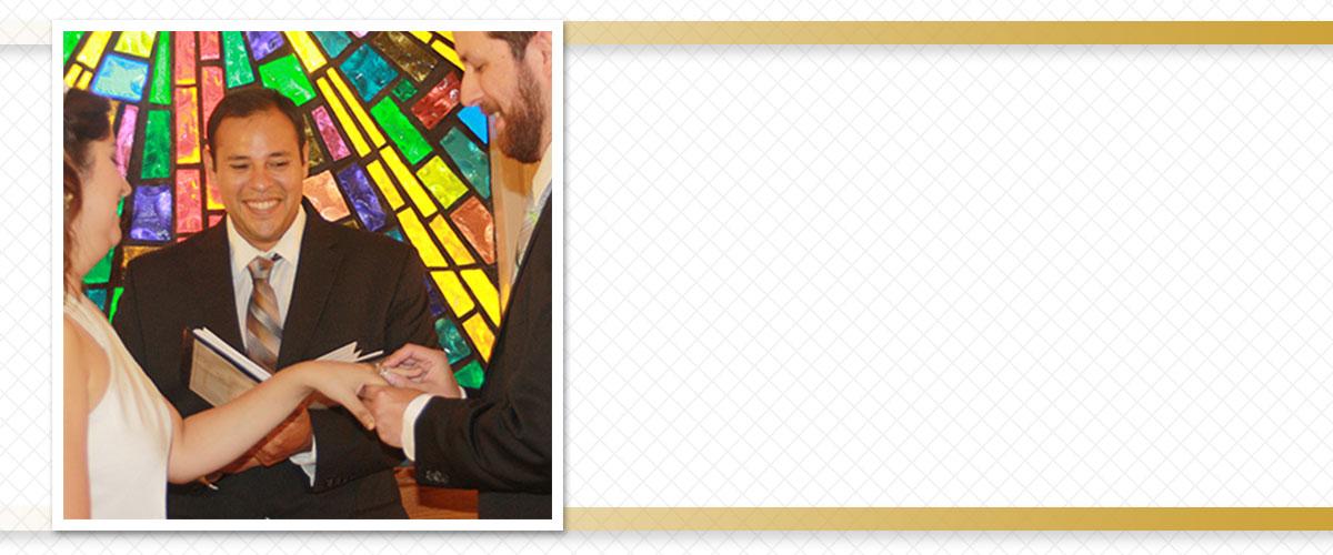 San Antonio TX Wedding Minister Rene Rodrigo Esparza
