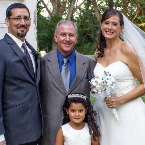 Reverend Glenn Coyle, Texas Wedding Ministers, Wedding Officiant, Wedding Minister