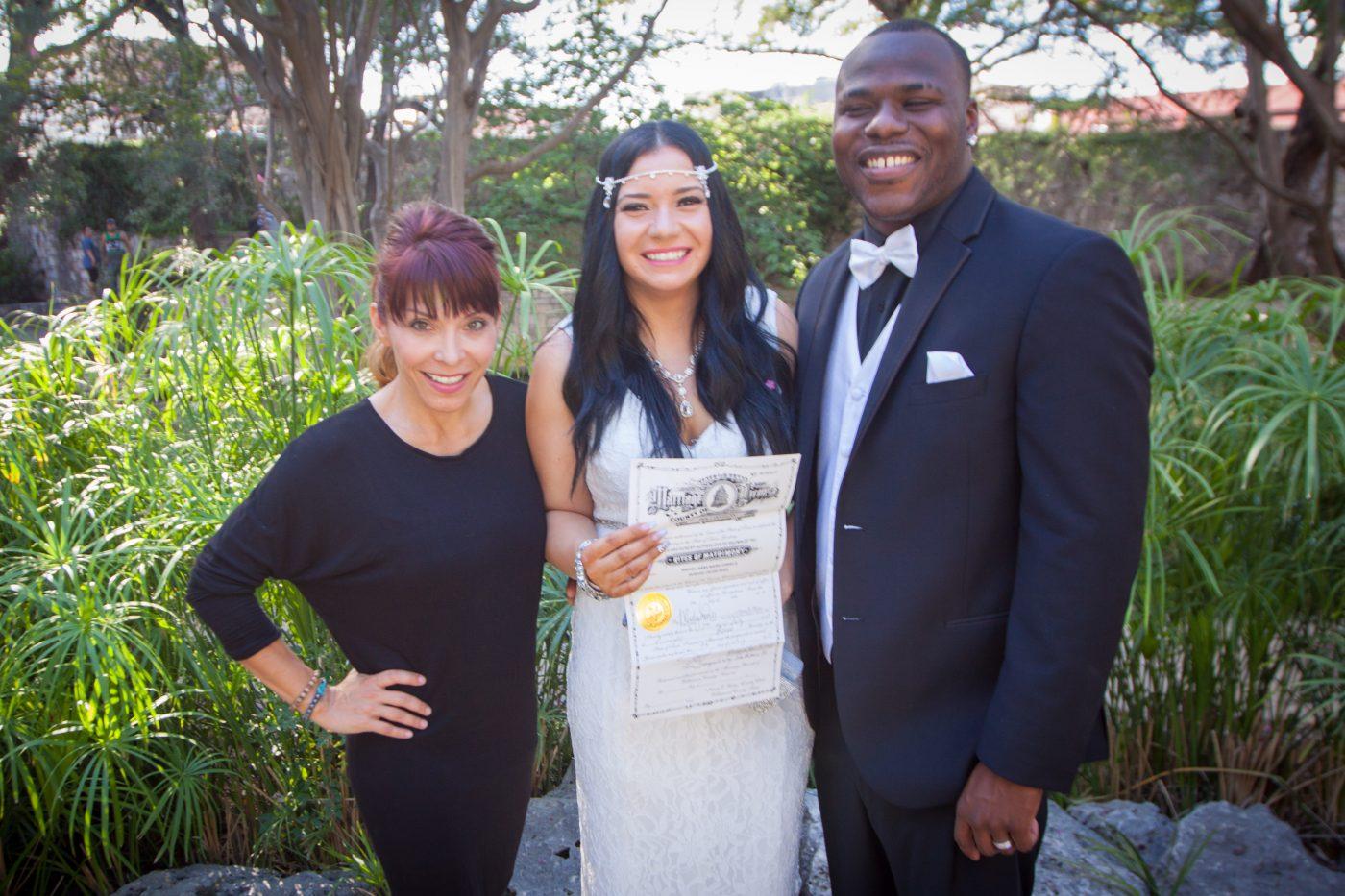 Reverend Janie Terrazas, Texas Wedding Ministers, Wedding Officiant, Wedding Minister