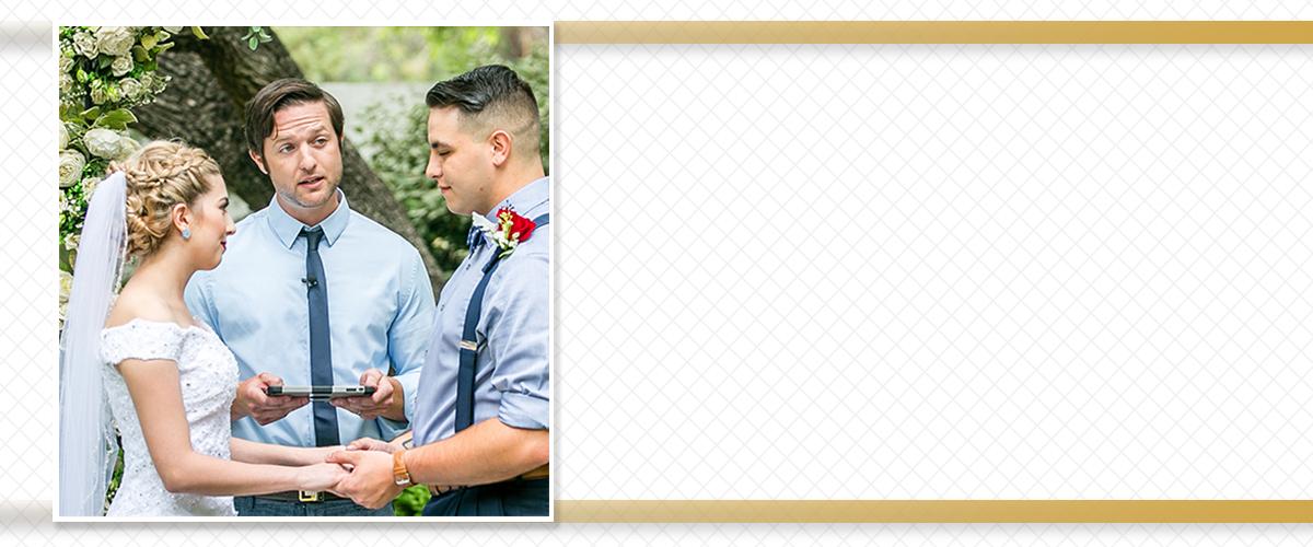 San Antonio TX Wedding Minister Reverend Jesse Ferraro