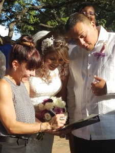 Wedding of the Week Reverend Janie Terrazas