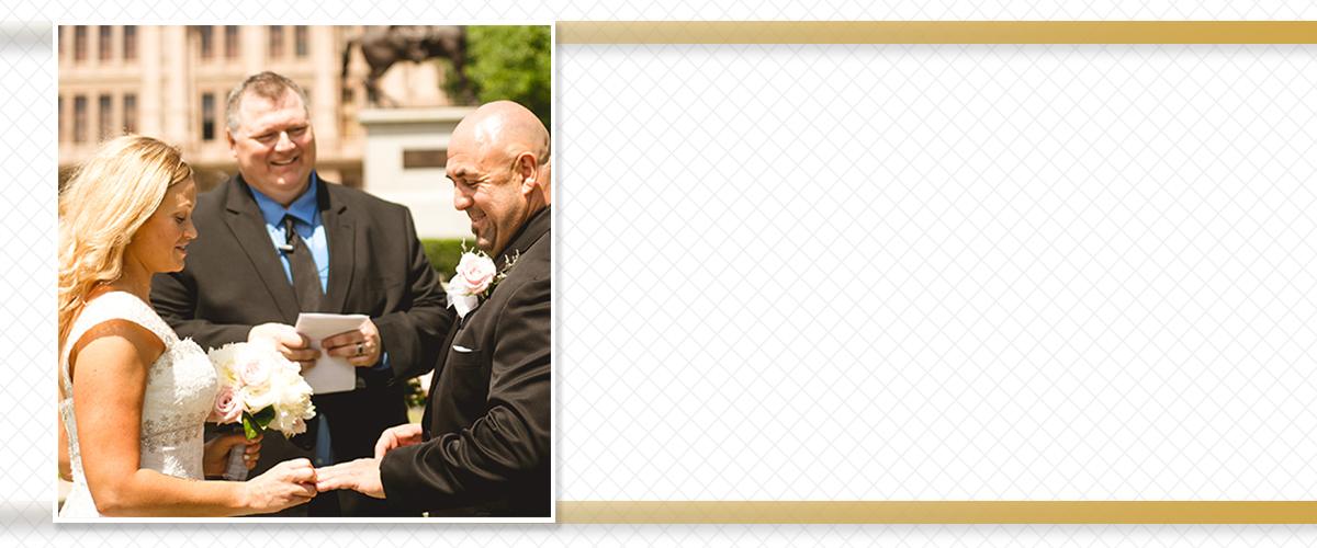 San Antonio TX Wedding Minister Wedding Officiant John Banaski