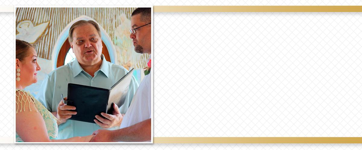 San Antonio TX Wedding Minister Minister Brent Rourk